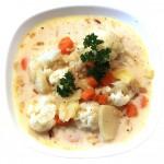 Delikatna zupa z kalafiorem