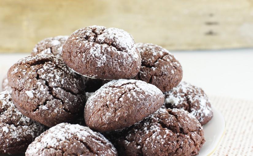 Czekoladowe ciasteczka z mąki gryczanej