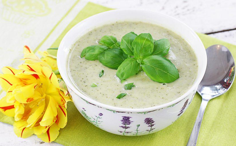 Zupa krem brokułowo-cukiniowa