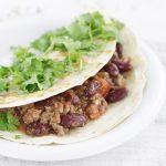 Wrap meksykański z wołowiną