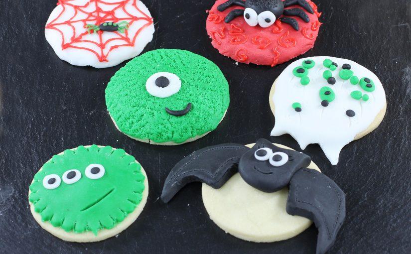 Halloween – ciasteczka z potworami