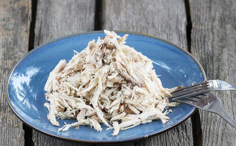 Pulled chicken – pierś kurczaka szarpana